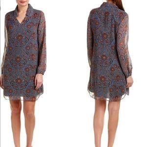 Cabi Provincial Floral Shirt Dress Style #3295 -L